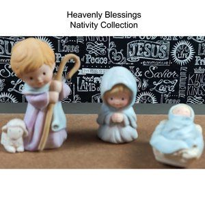 Heavenly Blessings Nativity Collection 3 PC